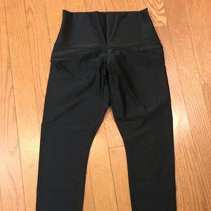 Lululemon Black Shiny Legging